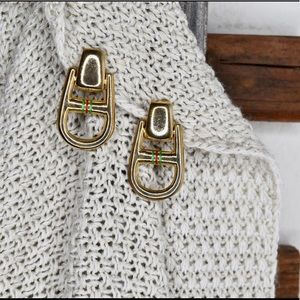 16a1275a839 Authentic Rare Paolo Gucci Vintage Earrings